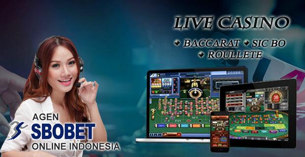 Live Sbobet Casino Online Terpercaya dan Terbaik