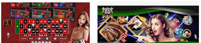 Produk judi live casino sbobet online