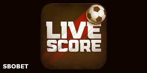LiveScore Sbobet online terbaik dan terpercaya